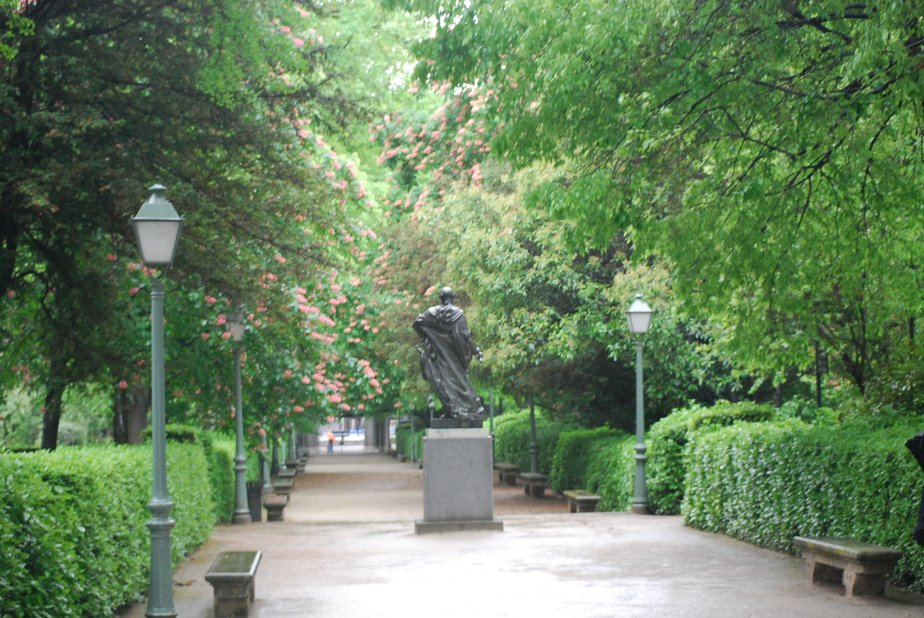 The Buen Retiro Park, Madrid,Spain